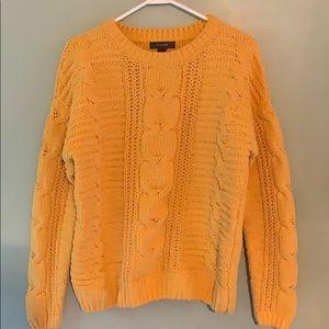 Primark Mustard chenille sweater
